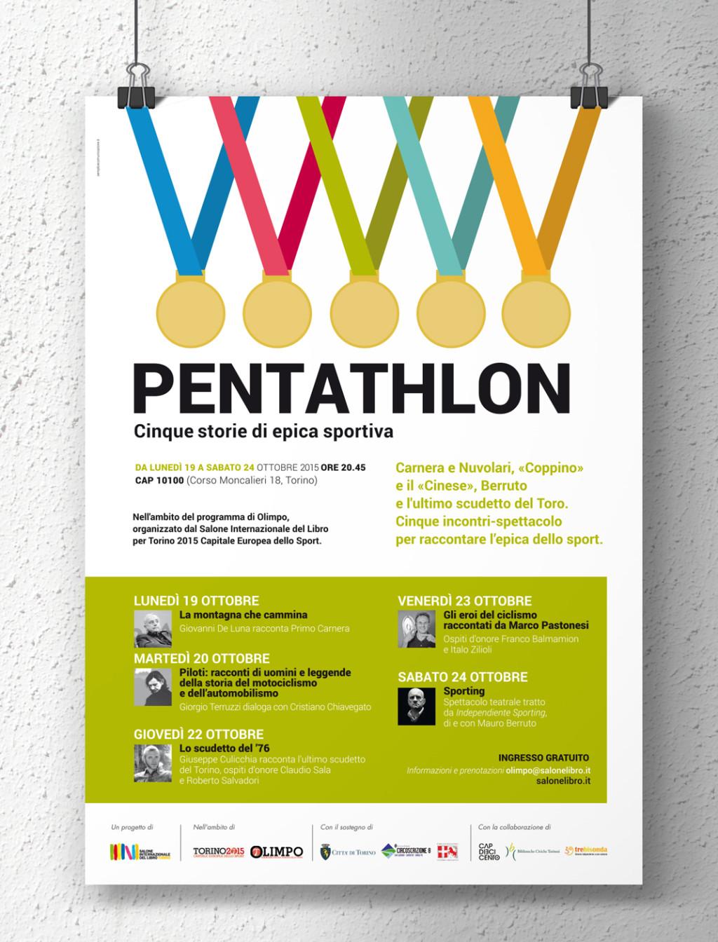 Pentathlon. Cinque storie di epica sportiva